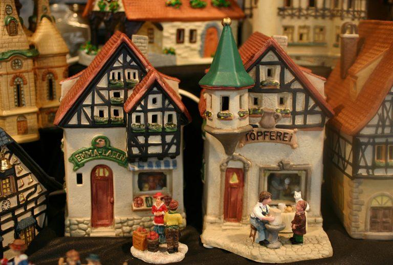 Weihnachtsmarktstand