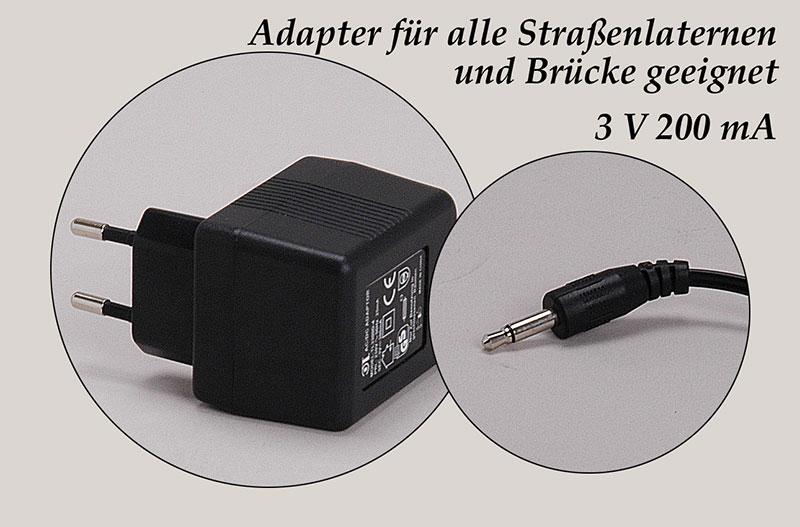 Adapter-für-alle-Straßenlaternen-und-Brücken-geeignet-3-V-200-mA